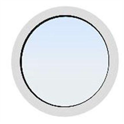 Fönster runda fönster : HALK/DKS Runda fönster | Byggkatalogen - Fönster | Pinterest