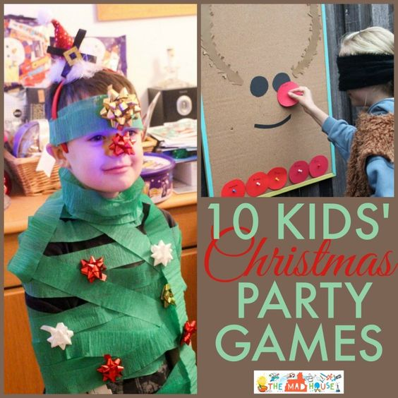 Christmas Family Party Games: Christmas Party Games, Kids Christmas Parties And Party