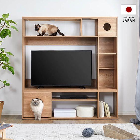 猫と暮らす家具選び。おすすめのキャットウォーク&キャットタワー12選