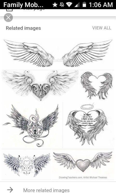 Pin On Tatuajes De Alas De Angel