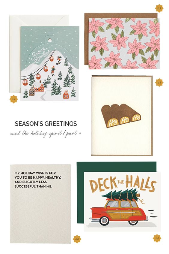 Growing East: Say It With A Card: Season's Greetings