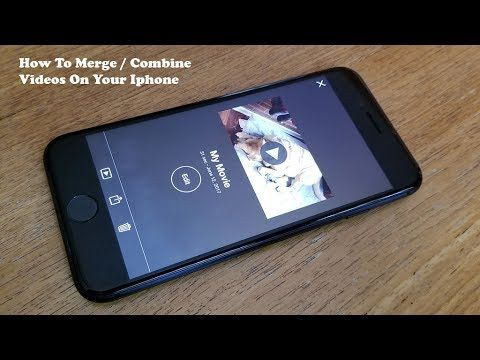 How To Merge Combine Videos On Your Iphone Fliptroniks Com Youtube Iphone Apps Iphone Best Iphone