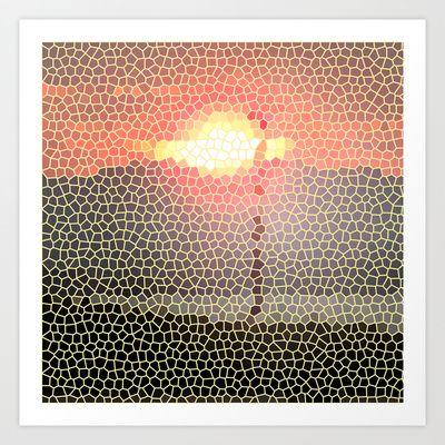 SUNSET Art Print by NioviSakali - $13.52