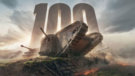 "Wargaming.net feiert in ""World of Tanks"" das 100. Jubiläum des ""Mark 1""-Panzers…"