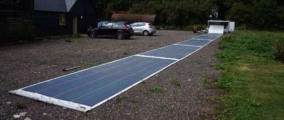 To make solar power as portable and convenient as a diesel generator, reducing the cost of power in remote locations in a world of increasing fossil fuel prices. To save lives with solar power in disaster relief scenarios.