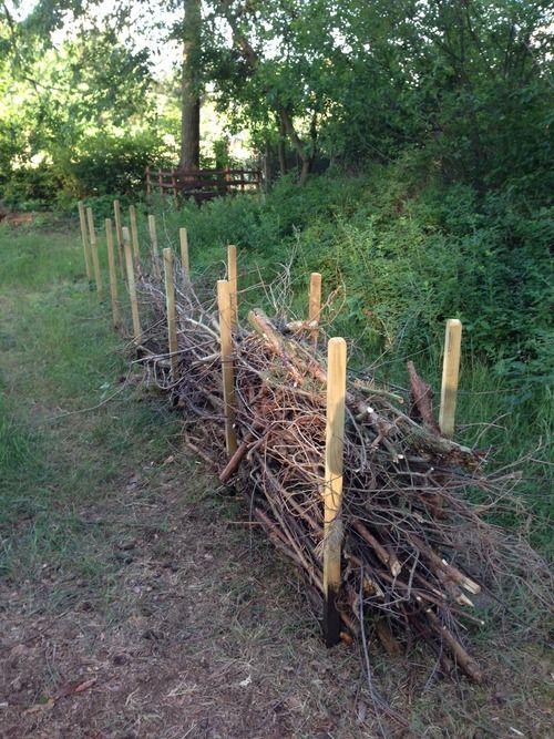 Deadwood Hedge Benjes Hedge Banke Garten Banke Benjes Deadwood Garten Hedge Cloture Jardin Idees Jardin Jardins