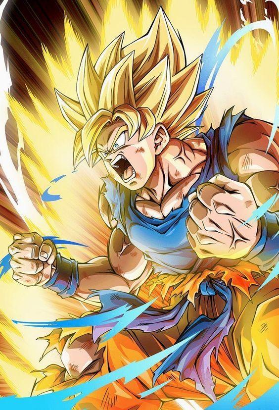Super Saiyan 2 Goku Dragon Ball Z Goku Desenho Goku Super Sayajin