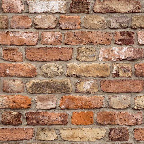 Vliestapete Steinwand 3d Braun Orange Grandeco Fc2502 Ziegelsteine Steintapete Backstein Tapete