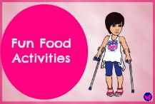 Food is always fun and food brings people together. Teach your little girl how to treat her body with healthy food in a fun way.