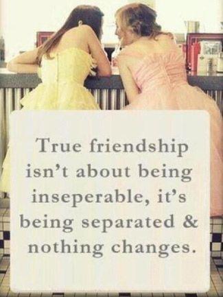 !!! True friendship