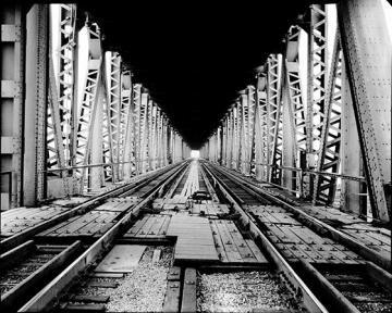 Railroad Bridge Wall Art