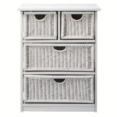 Meuble salle de bain 4 tiroirs nagoya la redoute prix la - Catalogue la redoute meubles ...