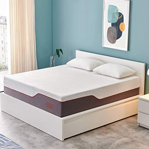 Buy Queen Mattress Molblly 14 Inch Ventilated Gel Memory Foam