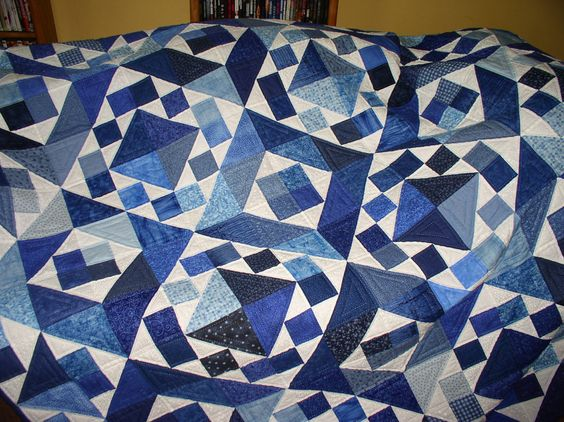 Laura and Shawn's Quilt that I hand quilted