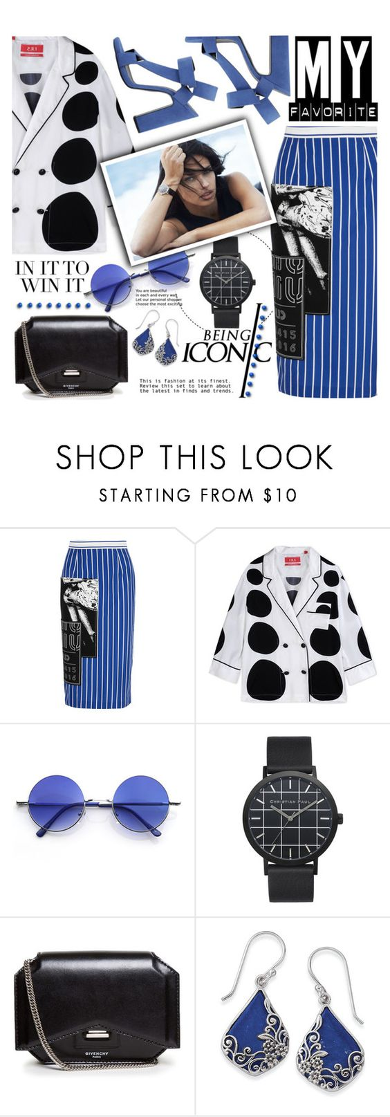 """""""Watch me!!!"""" by gabrilungu ❤ liked on Polyvore featuring Miu Miu, Pierre Hardy, F.R.S. For Restless Sleepers, Retrò, Givenchy and Natures Jewelry"""