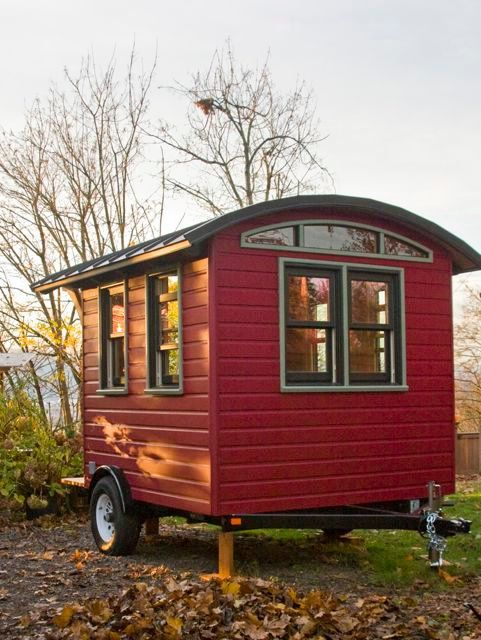 Don Vardo Tiny House Shed To Tiny House Tiny House Exterior Tiny House Plans