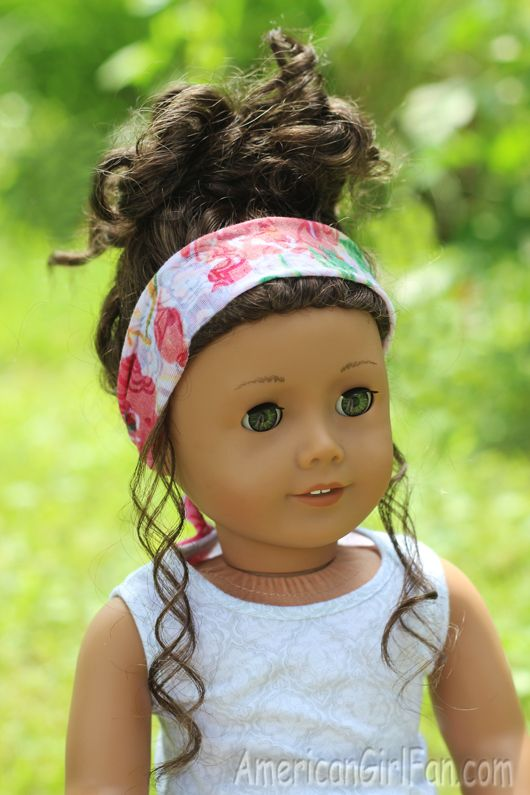 Head Scarf For American Girl Doll: