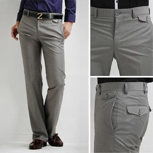 plus size formal pant slim fit fashion modern european men's suits mens work trousers clothes suit pants asian men free shipping-in Apparel ...