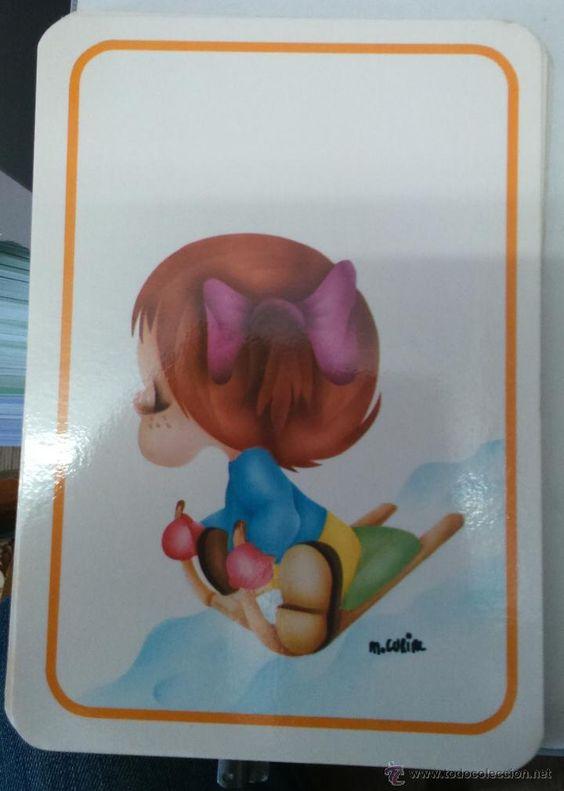 Postales: Lote de 15 postales infantiles diferentes con dibujos de M. Curial Editadas en Francia - Foto 7 - 46218125