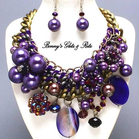 ultimate chunky necklace set costume jewelry