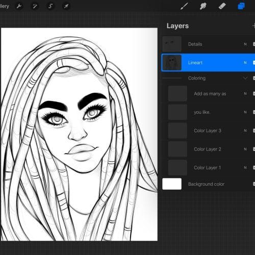 Best Brushes For Painting On Procreate Alicja Prints Procreate Brushes Free Body Reference Drawing Ink Brush