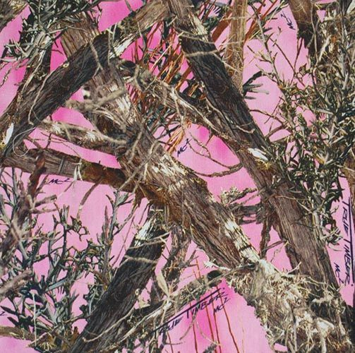 Pink Hunting Camouflage Wallpaper