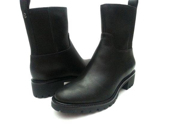 Cole Haan Ellison Sh.bt.wp.ii Women Leather Mid Calf Size 6.5 #ColeHaan #MidCalfBoots
