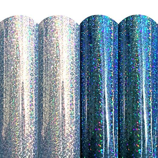 Mermaid Metallic Glitter Variety Pack Permanent Adhesive Craft Vinyl Sheets For Cricut Silhouette Cameo Vinyl Crafts Silhouette Machine Silhouette Cameo