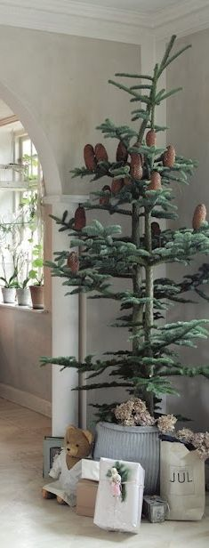 all natural christmas tree:
