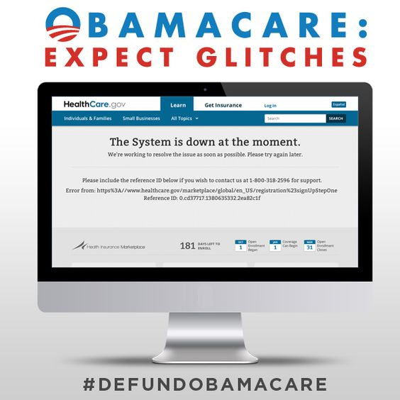 "Obamacare is one BIG ""glitch."" But we can fix it. -- Sen. Ted Cruz"