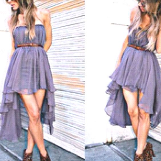 : Fashion, High Low Dresses, Outfit Ideas, Fashion Style, Dream Closet, Dresses, Mullet Dress