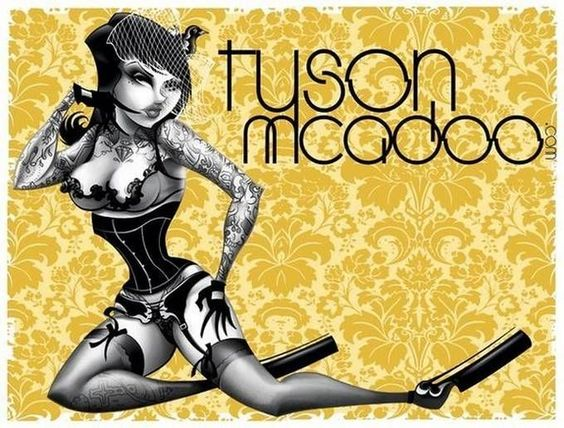 Cartoon girls by Tyson McAdoo