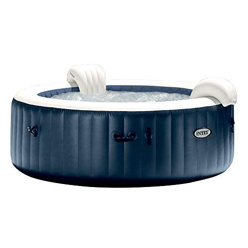 Intex Spa Gonflable Purespa Blue Navy 6 Places En 2020 Spa Gonflable Spa Gonflable Carre Gonflable