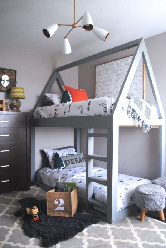 the boo and the boy: bunk beds: