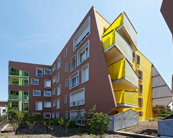 bernard buhler: residence origami layers form and color - designboom