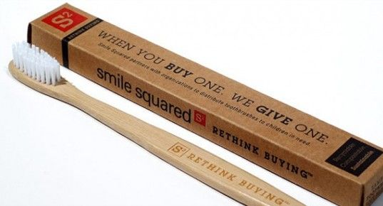 For every Smile Squared biodegradable toothbrush you buy, we donate one to a child in need. We believe that even small, everyday items can have a big impact on the world. www.smilesquared.com