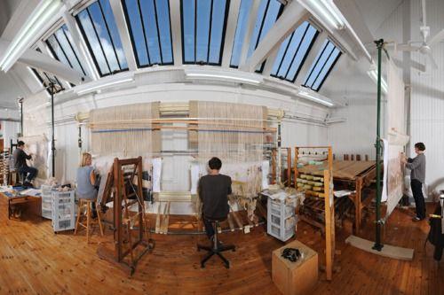 Tapestry Studio - West Dean UK https://www.westdean.org.uk/study/school-of-creative-arts/tapestry-studio