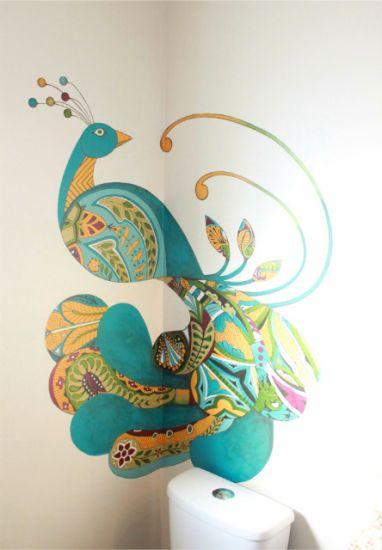 Mural // @Liliana Gutiérrez puedes intervenir cualquier espacio :D
