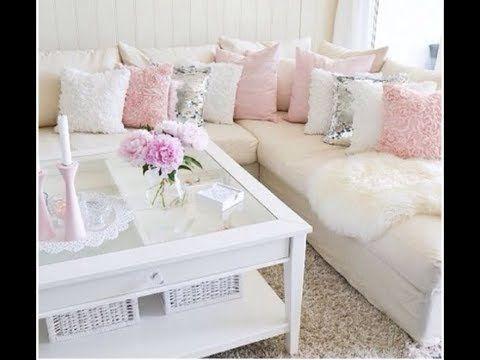 احدث موديلات الكنب Latest Models قصر الديكور Chic Living Room Home Interior Design Shabby Chic Homes