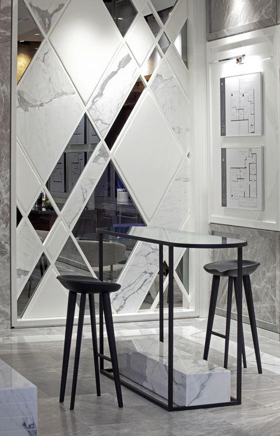 Foyer Mirror University : At the residences of university avenue art