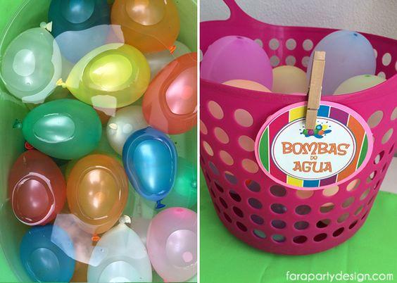 Fiesta de Globos de agua por Fara Party Design | Waterballoon Party by Fara Party Design