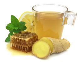 Té de Jengibre ... funciona para descongestionar las vías respiratorias, desinflamar, para el estómago, entre otros beneficios.