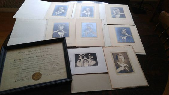 Hey, I found this really awesome Etsy listing at https://www.etsy.com/ca/listing/449489192/antique-lot-nurse-photographs-and
