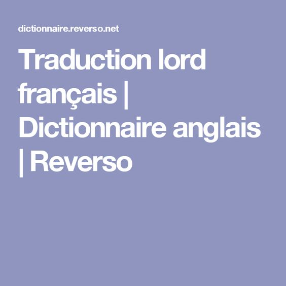 francais anglais traduction postface