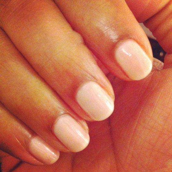 Freshly painted nails. #OPI Otherwise Engaged.