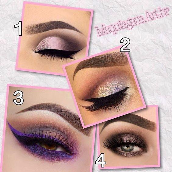 1 2 3 ou 4 ? 😍😍 ➡️INSTAGRAM: @blogdemaquiagem 👄
