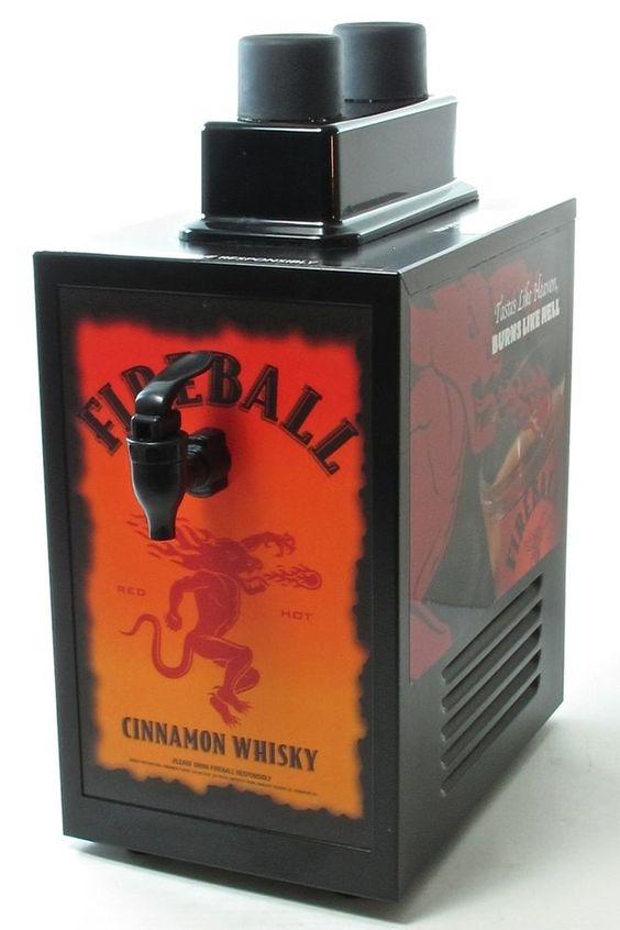 fireball machine