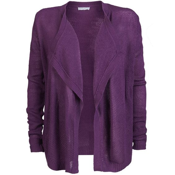 ONLY Drapy Cardigan ($19) ❤ liked on Polyvore featuring tops, cardigans, sparkling grape, loose cardigan, loose tops, purple cardigan, sparkle cardigan und loose fit tops