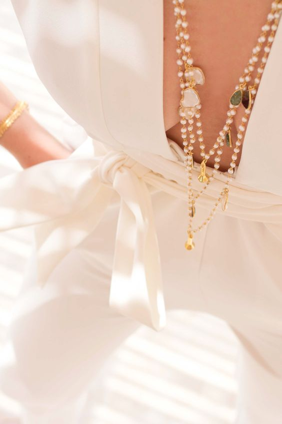 NEWONE-SHOP.COM I #layered #necklaces #boho #halsketten
