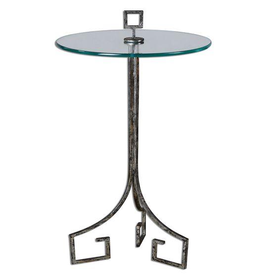 Grecia Iron Accent Table